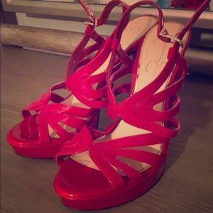 Jessica Simpson Red Patent Heels